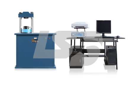 300KN自动压缩试验机
