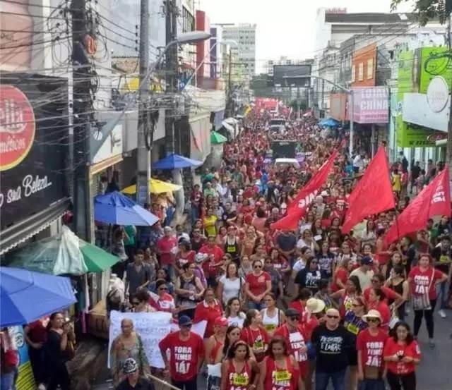 巴西大罢工仍在继续